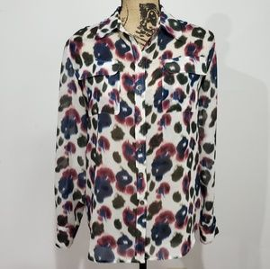 Two by Vince Camuto Animal Print blouse